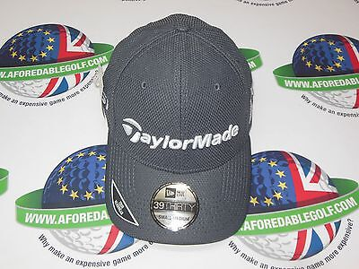 Taylormade Golf New Era Tour 39Thirty Fitted Cap Graphite Grey Size Small/medium