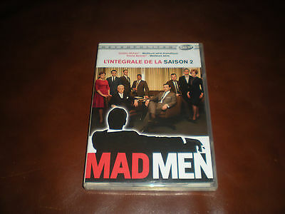 Coffret Integrale De La Serie Mad Men Saison 2 - 4 Dvd 13 Episodes