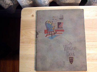 The Windsor Book Nichols & Stowe Co. Illustrated 1920's Sold To Dealers Only
