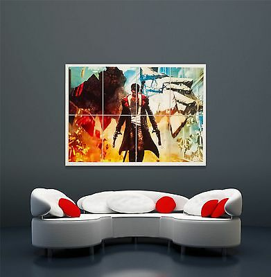 NEW GIANT DMC DEVIL MAY CRY WALL ART POSTER LARGE PRINT - LAST ONE 118.8 x 84cm