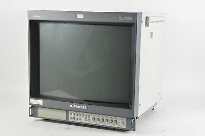 "Olympus Trinitron 20"" OEV203 CRT Color Video Monitor Retro Gaming"