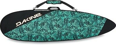 """New 2017 Dakine Daylight Deluxe Thruster Surf Board Bag 6'2"""" Painted Palm"""