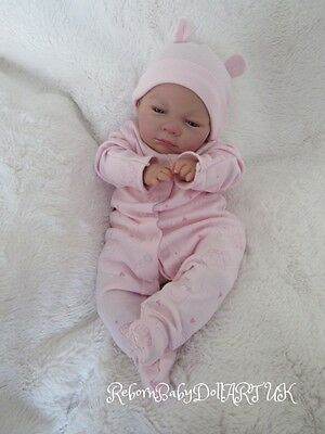 beautiful AWAKE Reborn Baby GIRL Doll ... #RebornBabyDollARTUK