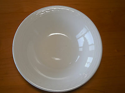 Block GALA WHITE Round Serving Vegetable Bowl 9 3/8""