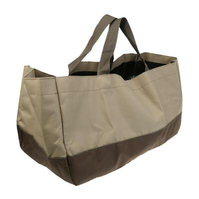 Strong Large Capacity Log Tote Bag Fireplace Firewood Carrier Storage Pouch