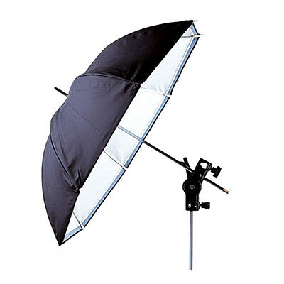 "Universal 43""/110cm Removable reflective black and white Softlight umbrella New"