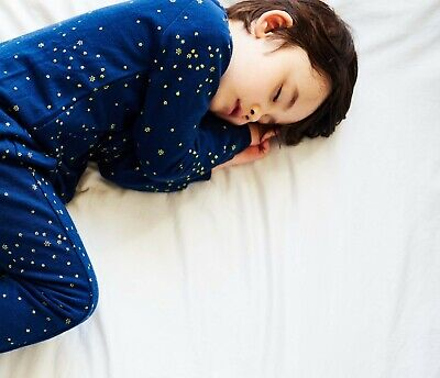Baby and Toddler Merino Wool Sleepsuit with Sleeves