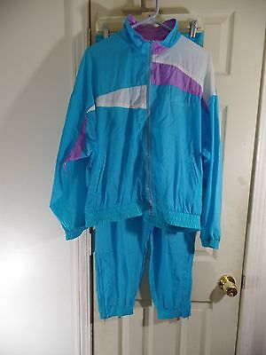 Vintage 80's PUMA Wind breaker Suit - Size Large