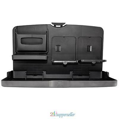 Universal Car Auto Dining Table Car Back Seat Folding Tray Cup Holder Drink Desk
