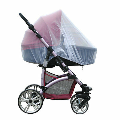 Universal Baby Stroller Push Chair Mosquito Net Pram Protector Fly Insect Mesh