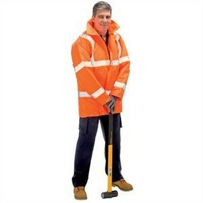 Hi-vis Traf.jacket- Orange M - Class 3 Draper Expert High Visibility Traffic