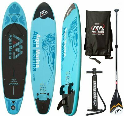 AQUA MARINA VAPOR SUP inflatable Stand Up Paddle 2017 Standard Paddel