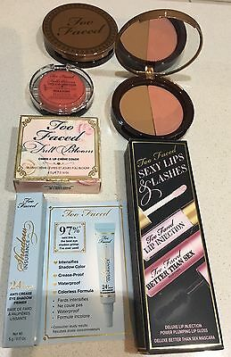 Too Faced 5 Pce Set includes a Full Size Better Than Sex Mascara