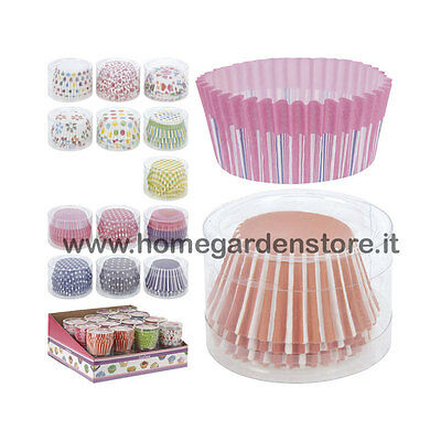 Pirottini Cupcake Muffin 80 Pezzi Fantasia Assortita