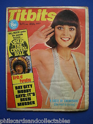Titbits Magazine - Nobby Clark ( Bay City Rollers ), Clairvoyants  1st July 1976