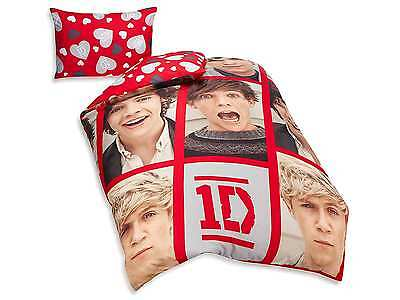 One Direction Boyfriend Single Reversible Duvet Cover Bed Set New Gift