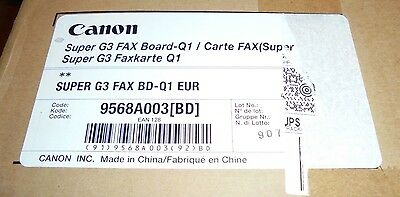 Genuine Canon 9568A003 Super G3 Fax Board-Q1 for IR 3025 3035 3045