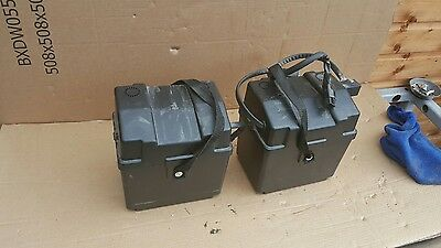 Invacare harrier plus electric wheelchair spare parts  battery boxes