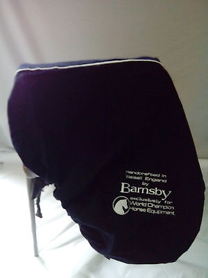 Barnsby / MMX / World Champion Horse Equip embroidered saddle cover NEW