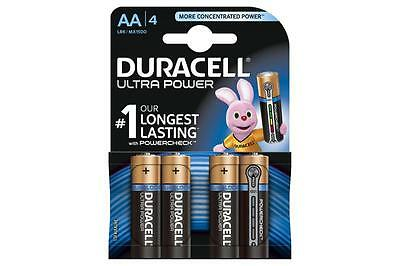 Duracell 656.970UK Ultra Power Alkaline Battery Pack of 4 w/ Duralock Technology