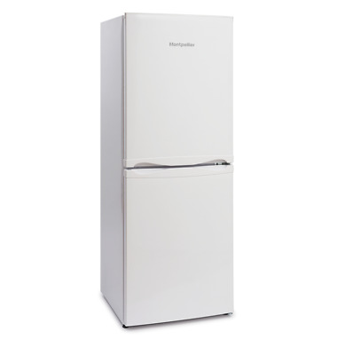 Montpellier MS148W A+ Rated Static 50/50 Combi Fridge Freezer in White New