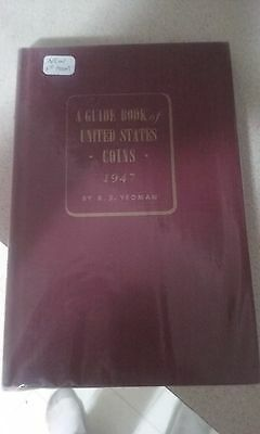 1947 first print guide book of us coins