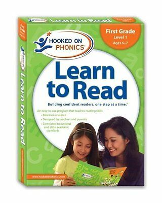 Hooked on Phonics Learn to Read, First Grade, Level 1 [With Workbook and DVD an