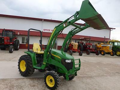 2010 John Deere 3320 Mfwd Compact Tractor With Loader For Sale 483 Hours Hydro