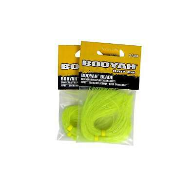 Booyah BYSSD626 Blade and Buzz Bait Skirt Silver Glitter Chartreuse 2ct