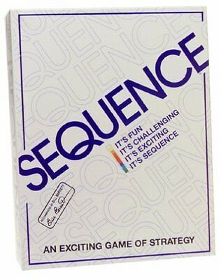 Jax Sequence Strategy Board Game New SEALED Ships Free SAMEDAY Expedited No Tax!