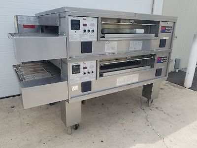 Middleby Marshall PS570G Double Deck Conveyor Pizza Oven **EXCELLENT CONDITION**