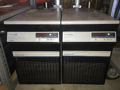 Lot of 2 VWR Scientific Products by PolyScience Recirculating Chiller Model 1173