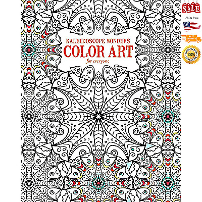COLORING BOOK COLORING Books Adults Stress Relieving Patterns Art ...