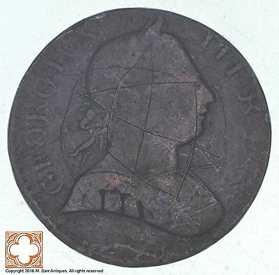 1773 Great Britain 1/2 Penny *1081