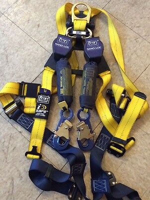 DBI SALA 3101276 Nano-Lok Self Retracting Lifeline Web 6' w/ Harness Climbing