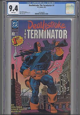Deathstroke the Terminator #1 CGC 9.4 Marvel 1991 Comic : NEW Frame  Price Drop!