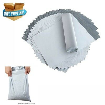 200 x Large Postage Poly Mailing Bags Satchels Plastic Pakaging Courier Post NEW