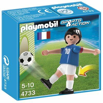 Playmobil 4733 Sports and Action Soccer Player from France - White