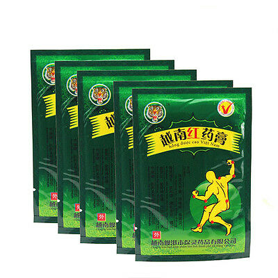 8-40X Vietnam Tiger Balm Plaster Creams Pain Relief Patch Body Muscle Massager s