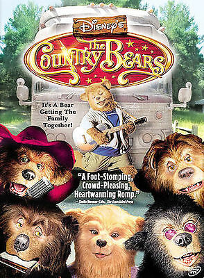 The Country Bears (DVD, 2002)DISNEY   NEW/SEALED  FREE SHIPPING