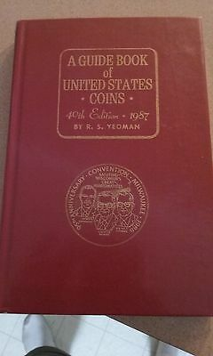 1987 ANA / 1987 normal HC guide book of us coins