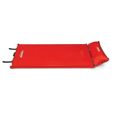 Roman Tornado Self Inflating Mat With Pillow Red - 7Cm