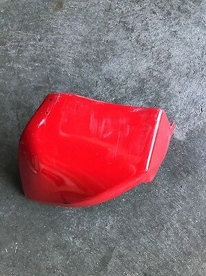 Vespa Lx150 Rear Fairing End Piece Red   Lx125 2013  OEM 622130 Right
