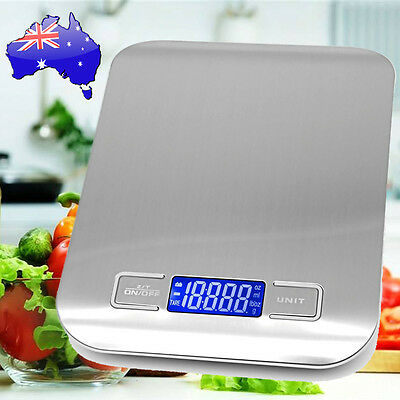 1-5000g Kitchen Food Scale Digital LCD Electronic Balance Weight Postal Scales