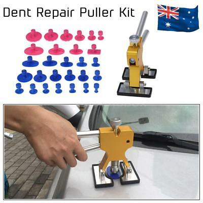 Auto Car Body Dent Remover Repair Puller With 28 Suckers Kit Tools AU Stock V8I0
