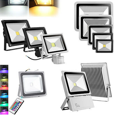 RGB & Sensor LED Flood Light 10W 20W 30W 50W 100W 150W 200W 300W Floodlight 240V