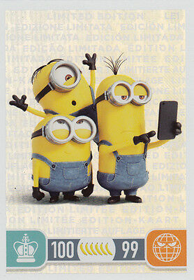 Topps Minions Trading Card Game | 8x LE1 Limited Edition NEU