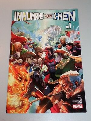 Inhumans Vs X-Men #1 Marvel Comics