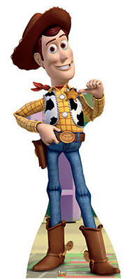 Woody - Toy Story Lifesize Cardboard Cutout / Standup / Standee (Refurbished)