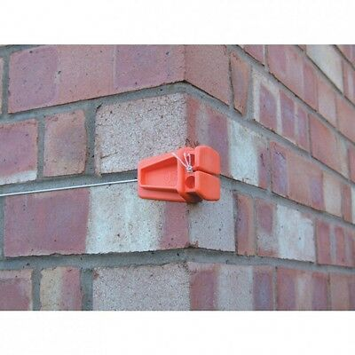 Brick Line & Corner Block Set Plastic Guide Blocks 36mtr & 4 Blocks